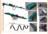 Heavy Duty Single Pole Crane Conductor Bar Rail Unipole Insulated Basbar System