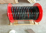 Industrial Type Spring Cable Reel Drum For Cable Control , Cable Reeling Drum