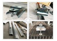 C32 Crane C Track Festoon System Rail Trolley / Cable Trolley Galvanized Steel