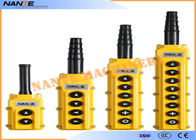Single Speed AS4 Industrial Remote Pendant Control Stations Overhead Crane Pendant Control