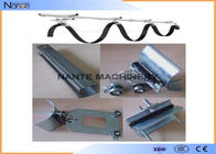 Galvanized Steel C Track Cable Festoon System For Flat And Round Cable
