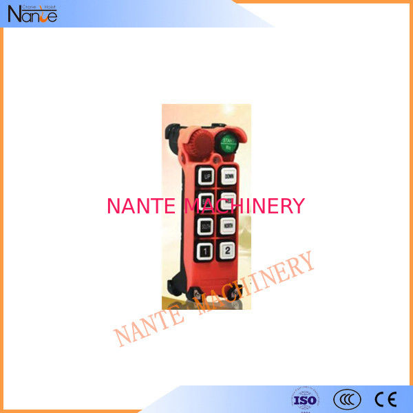 Industrial Handheld Wireless Hoist Remote Controller For Crane F21 - E2M - 8