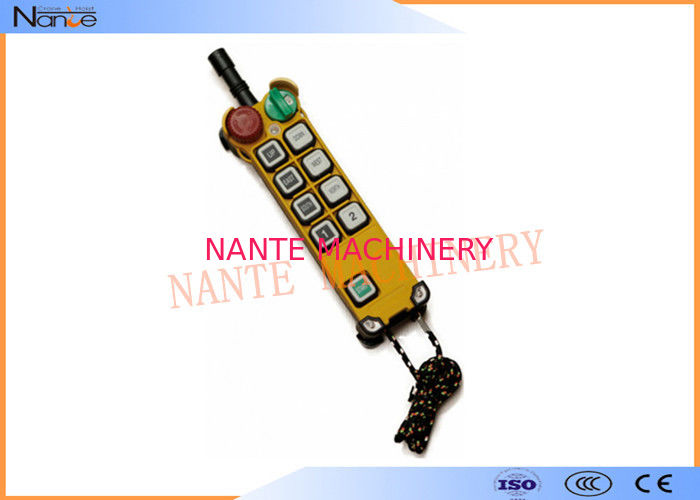 F24-8D Hoist Remote Control Switch , Remote Control For Crane CCC