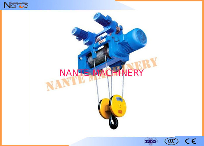 Construction Metallurgy Electric Wire Rope Hoist Low Noise Suitable For Plant