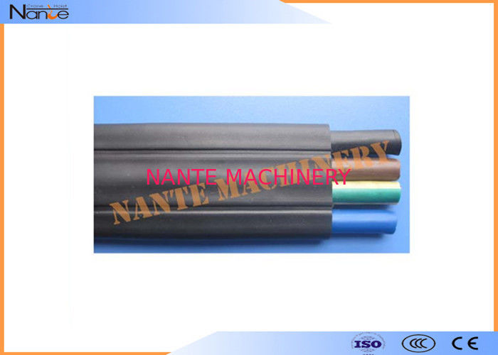 Butadiene Acrylonitrile Rubber Flat Electrical Cable Special Polychloreprene