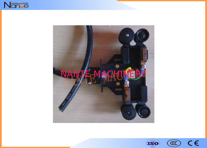 Copper Collector Conductor Rail System PVC Housing For 4 Conductors