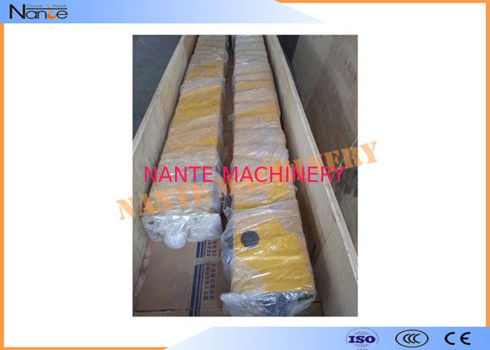 Electric Overhead Crane End Trucks Welding Long Travel Reinforce Plate
