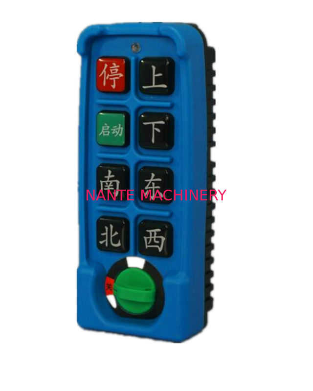 Single Speed Series Industrial Wireless Hoist Remote Control 4 / 6 / 8 buttons