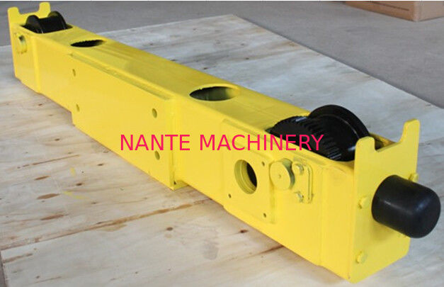 40Cr Open Gear Bridge Crane End Trucks / Wheel Block For End Carriage Overhead Crane