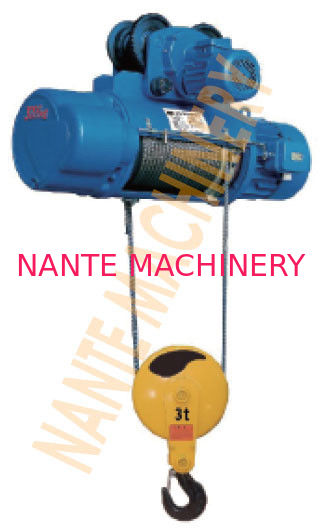 Underhang Hoist CD / MD Industrial Electric Hoist With Limit Stopper Owing Long Service Life