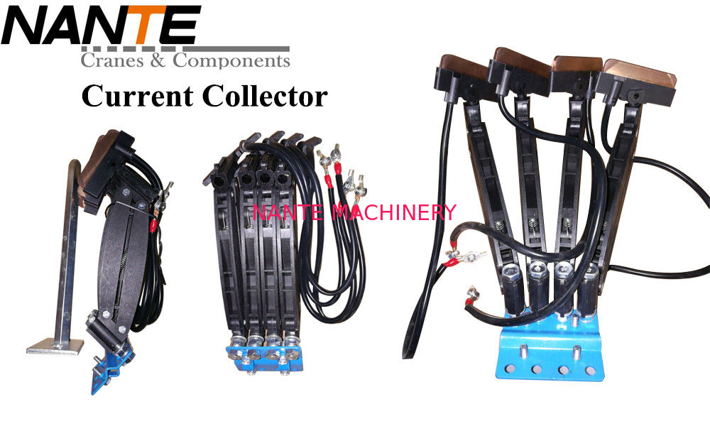 Conductor Rail System Multi pole Conductor Rail Copper Current Collector For 3/4/6 Poles