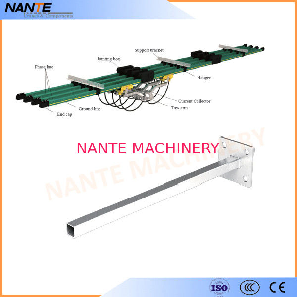 Galvanized Steel  Tow Arm  for NSP-H32 Conductor Rail Accessories