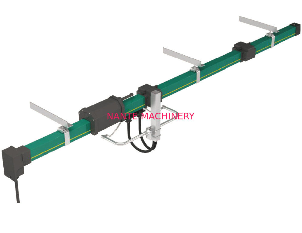 4 Poles Enclosed Insulated Conductor Bar With Good Market , PVC Housing