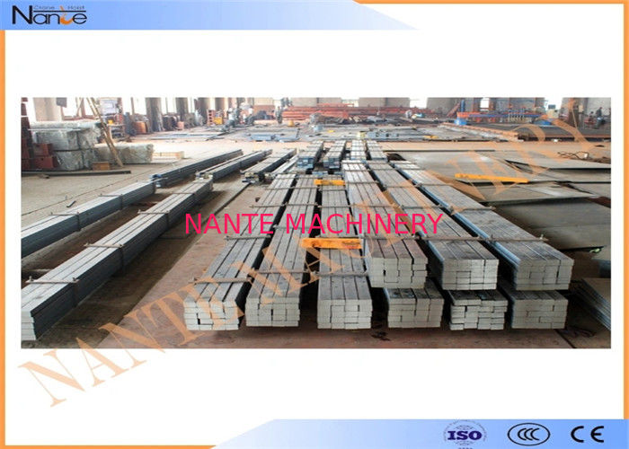 High quality Crane End Carriage Steel Crane Rail Hot Rolled  with fast shipping