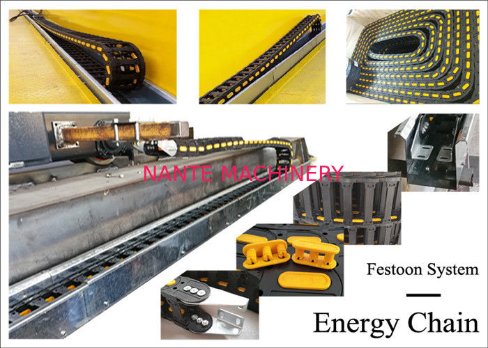 Crane Energy Chain System Special For Festoon System With Lower Noisy