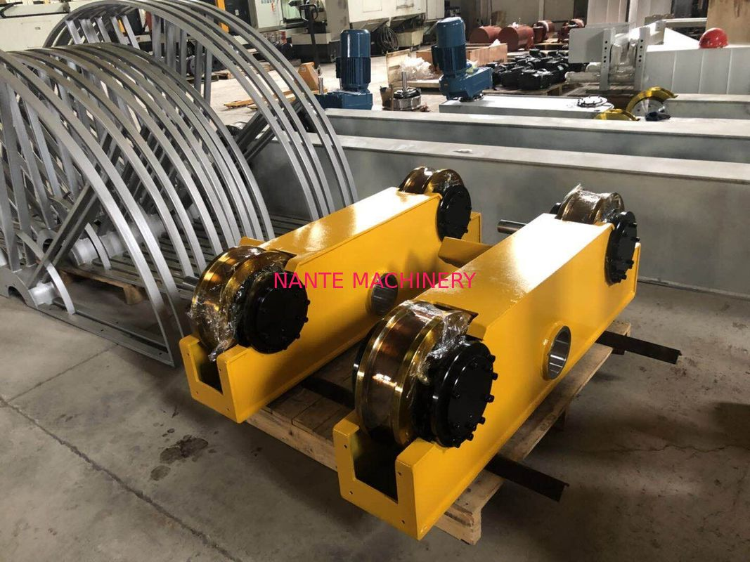 European Style Hollow Shaft End Carriage Crane Bogie For Overhead Crane Lifting