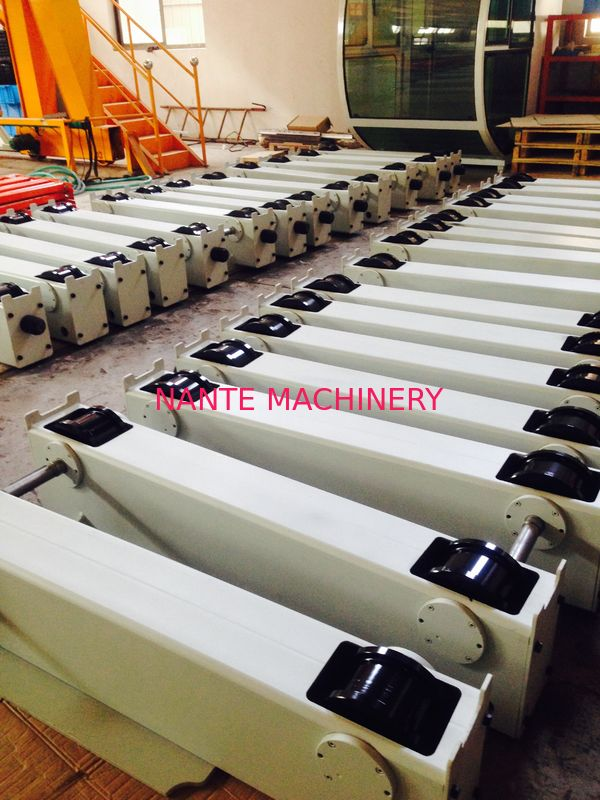 Customized Overhead Crane Parts HSE End Carriage Bogie Designed Wheel Block