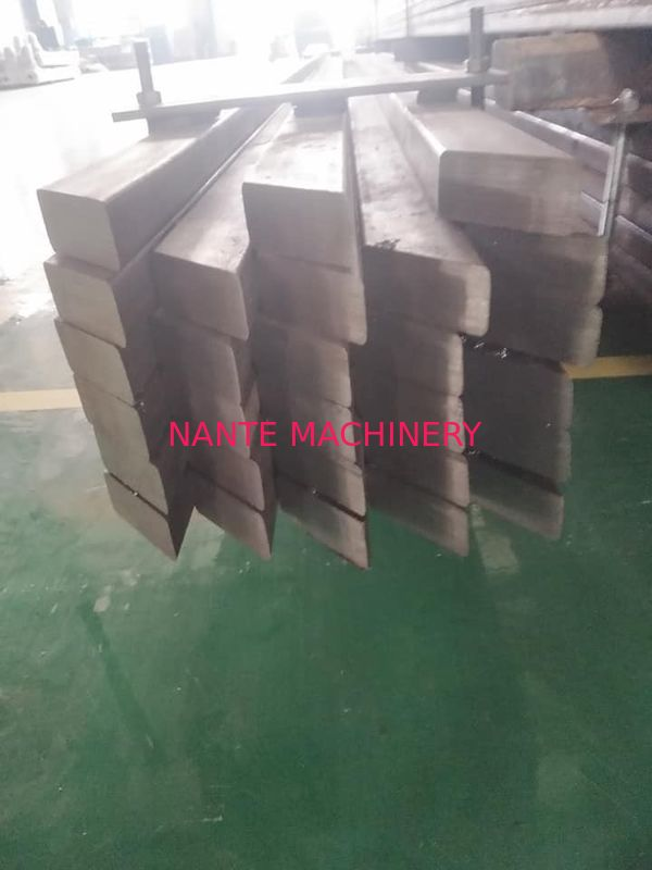 Flat Bar Steel Crane Rail Tracks Flat Steel Square Bar Custom Cutting Design
