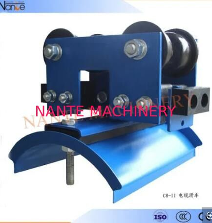 Pendant Control System I Beam Trolley Crane Cable Carrier Trolley Of Steel