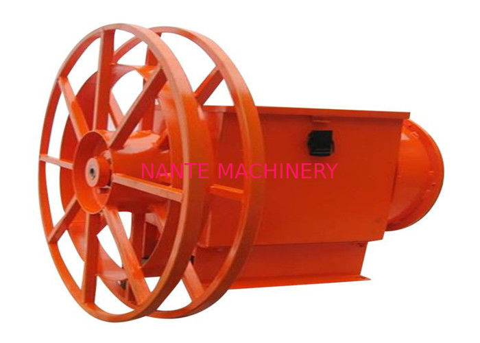 Long Life Overhead Crane Components Power Supply Cable Reel Indoor Use