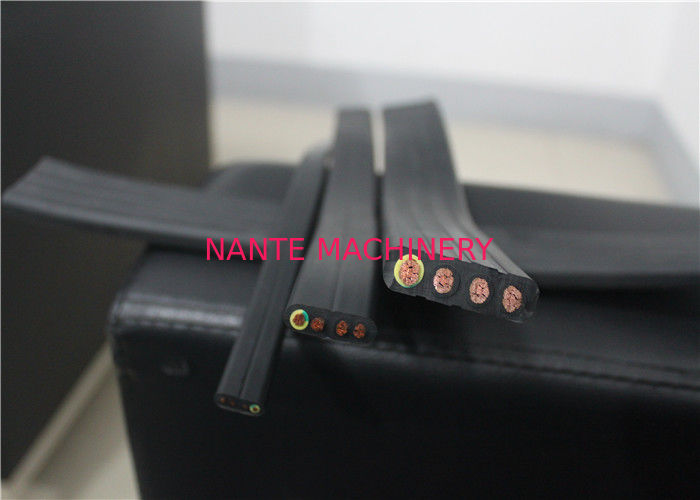 Multicore Overhead Crane Spare Parts Rubber Sheath Flexible Flat Cable