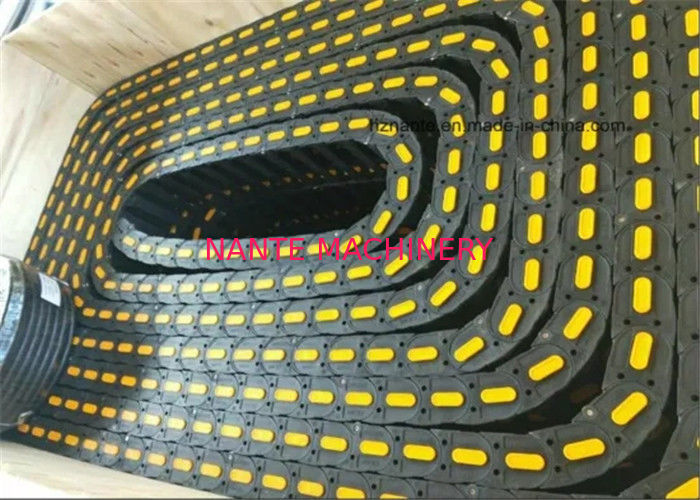 ISO Nylon Cable Carrier / Energy Cable Drag Chain For CNC Machine Tool