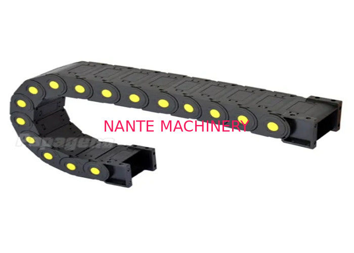 ISO Overhead Crane Parts Nylon Cable Carrier / Energy Cable Drag Chain