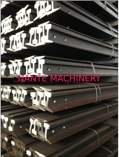 Q235 55q Heavy Duty Steel Crane Rail Overhead Crane Parts For Railway