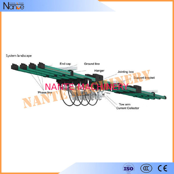 Insulated Bridge Crane Kits Conductor Rails Electrification Systems