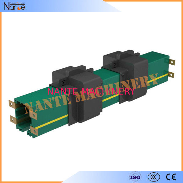 Four Poles 35A - 240A Conductor Rail System DSL Systems with PVC Housing