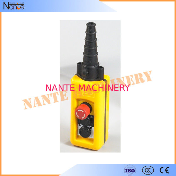 Wireless Double Speed Crane / Hoist Pendant Control Hoist Push Button Switch