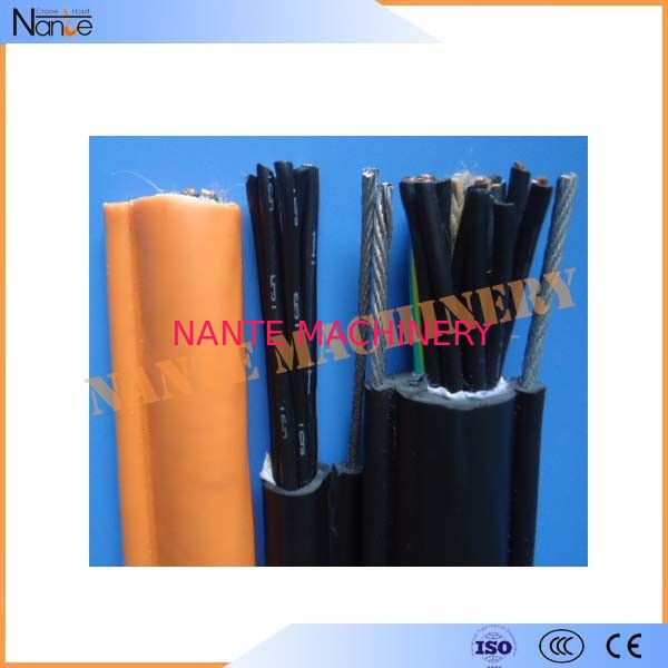 Oil / Flame Resistance Rubber Twin Flat Electrical Cable GB5023.6 / IEC60227-6