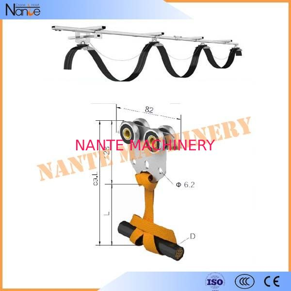 High Efficient C32 Festoon Cable Systems C-Track And Cable Trolley