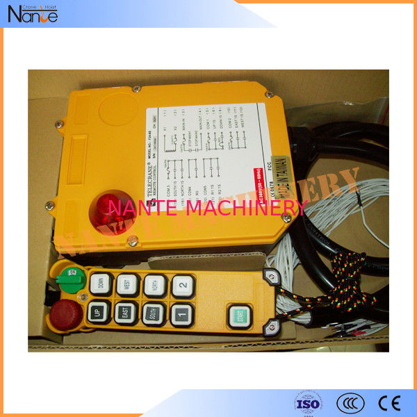 Single / Double Speed Telecrane Remote Control Crane Push Button Switches F24-8S