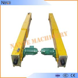 China Motor Overhead Crane End Carriage RAL1004 ISO9001 CE CCC Approved factory