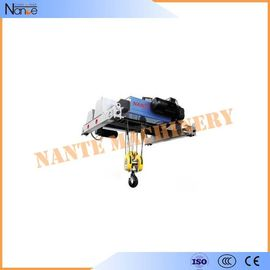 China Professional Low Headroom Trolley Hoist Maximum Lifting Height 30m factory