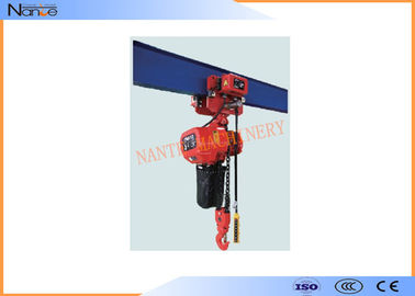 China Traveling Type Manual Chain Hoists 3 Ton For  Heavy Duty Stage Hoist factory