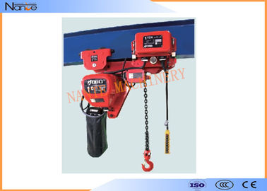 China Light And Durable Harrington Chain Hoist 3m To 130m Length Water Proof Push Button factory