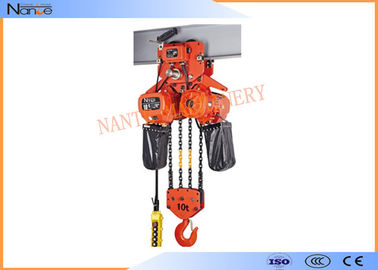 China 2 Ton / 5 Ton Electric Hoist Trolley Lever Chain Hoist With Safety Hook factory