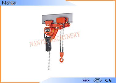 China 250kg Electric Chain Hoist Chain Fall Hoist Anti - Phase Protection Device factory