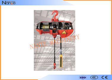 China Fixed Type Air Chain Hoist Electric Cable Hoist Allows  Immediate Braking factory