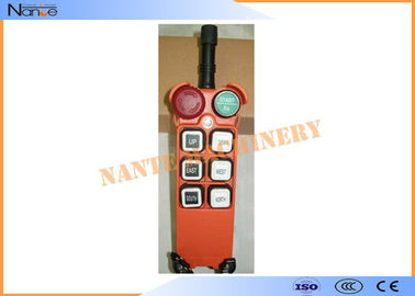 China Radio Hoist Push Button Switch Crane Remote Control 6 Buttons Within 100m factory
