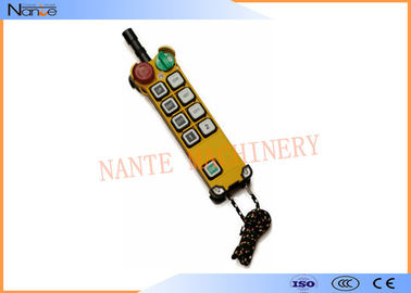 China F24-8D Hoist Remote Control Switch , Remote Control For Crane CCC factory