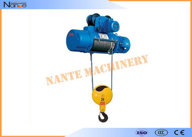 Aterial Handling Metallurgy Industrial Electric Hoist Low Noise Suitable For Plant
