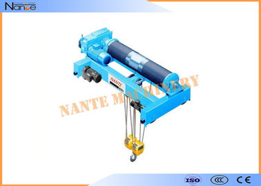 China Low Headroom Electric Wire Rope Monorail Hoist Workstation Steel factory