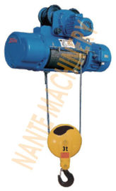 China Underhang Hoist CD / MD Industrial Electric Hoist With Limit Stopper Owing Long Service Life factory