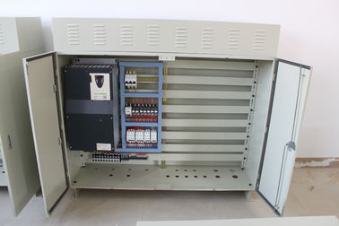 IP55 Schneider Gray Or Black End Carriage Control Panel Of 0.75kw-30kw Inverter Capacity
