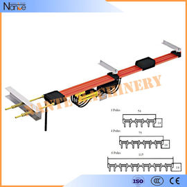 China 4 Pole resistance High Tro Reel System Conductor Rail Busbar factory