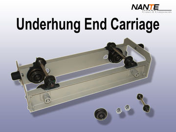 Gray Underhung Crane End Carriage Max Capacity 10 T At Speed 20m / Min