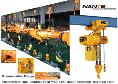China Small Capacity Electric Chain Hoist  with copmetitve price for daily using factory